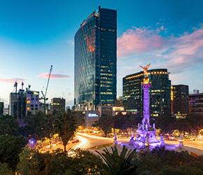 vuelos de Bogotá a México